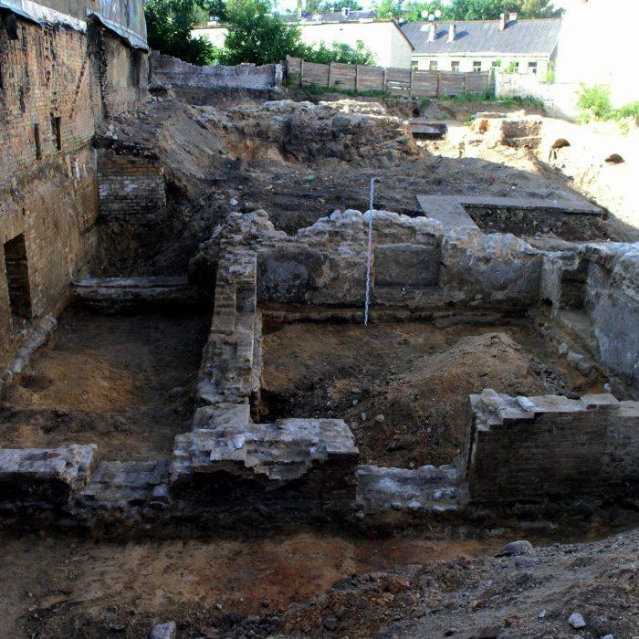 Detalieji archeologiniai tyrimai. Vilnius