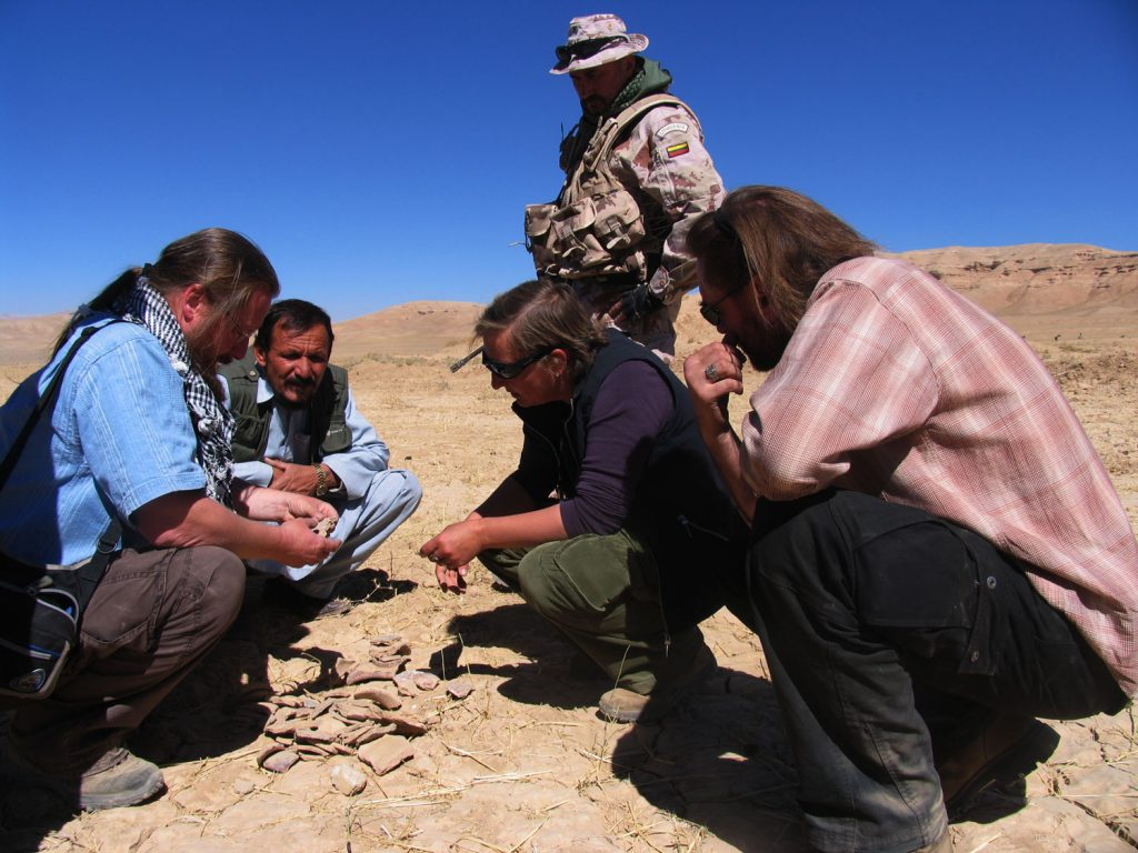 Archeologinė misija afganistane