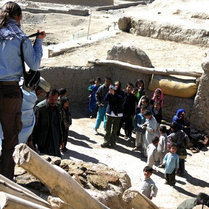 Qala Kasi tvirtovėje dabar gyvena žmonės