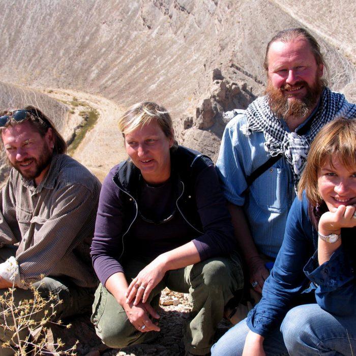 Archeologinės misijos Afganistane dalyviai