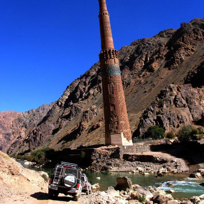 Štai jis, Goro provincijos perlas Dzam minaretas