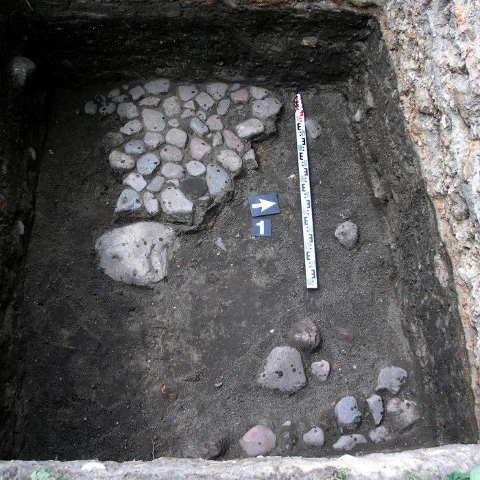 Žvalgomieji archeologiniai tyrimai. Vilnius