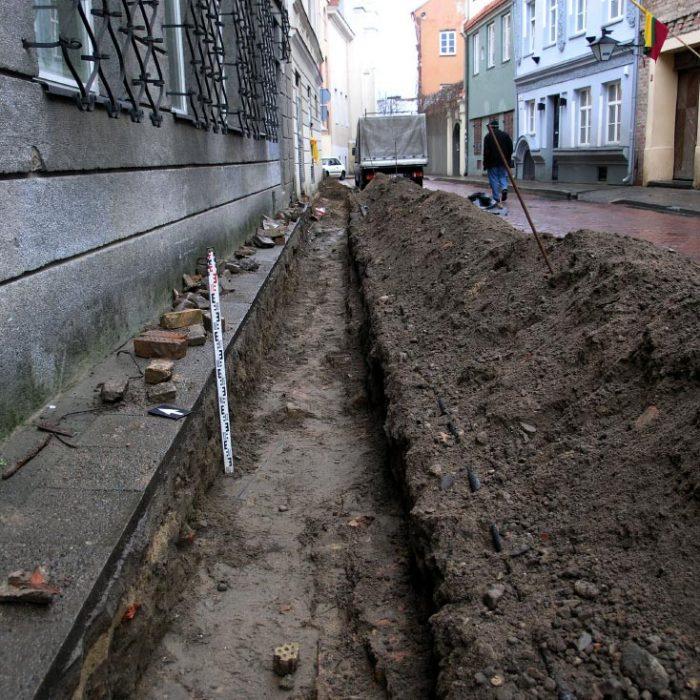 Archeologiniai žvalgymai. Vilnius